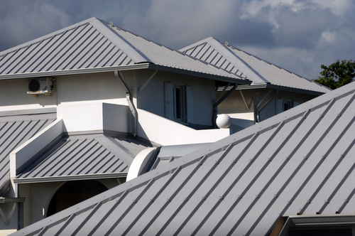 Grey Metal Roof Replacement in Corpus Christi